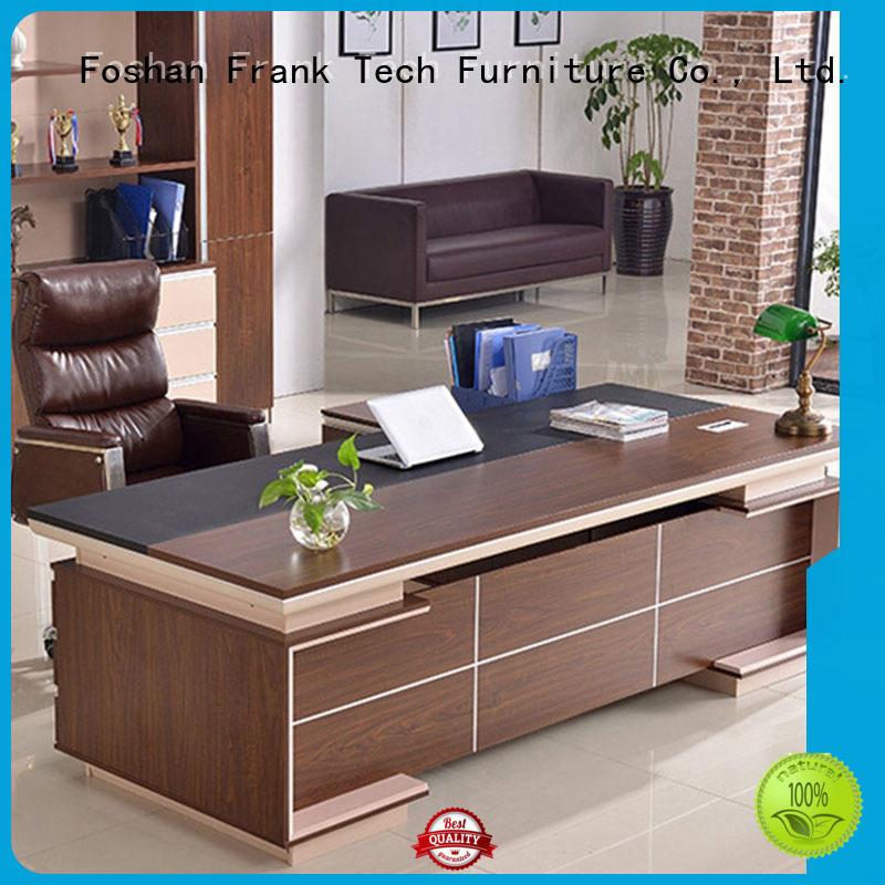 Modern Design CEO Executive Office Table Wooden Manager Work Desk Office Desk FK-1006