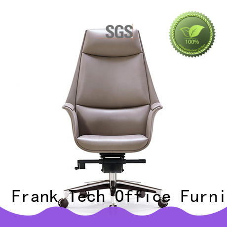 Frank Tech frame leather office chair China Factory