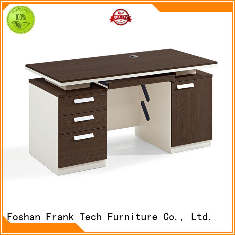 Frank Tech modern design wood office desk Certified for hotel