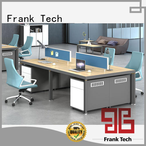 Frank Tech open office spaces workstation desk Aluminum Base for bank
