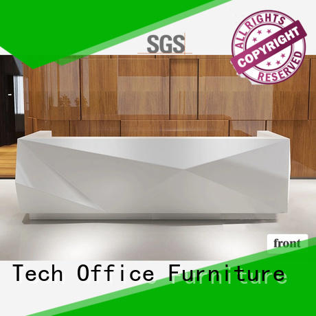 Frank Tech wooden reception counter design aluminum modular cubicles for office