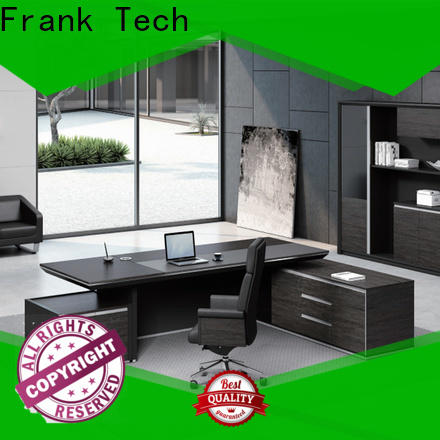 Frank Tech high class fabric executive table at discount for airport