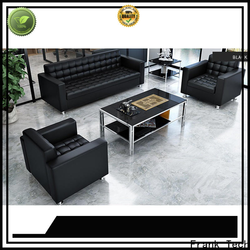 Frank Tech new design office sofa set Aluminum Base