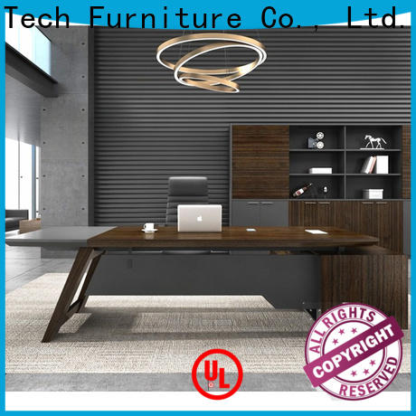 Frank Tech high tech executive office desk bulk production
