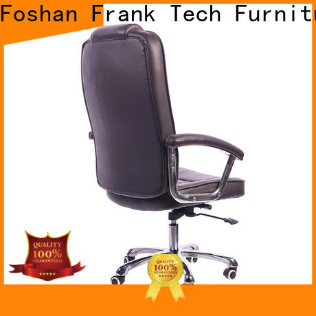 Frank Tech leather leather desk chair at discount for school