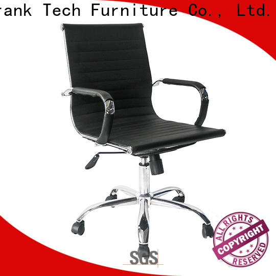 Frank Tech ripple leather desk chair by Chinese manufaturer for hotel