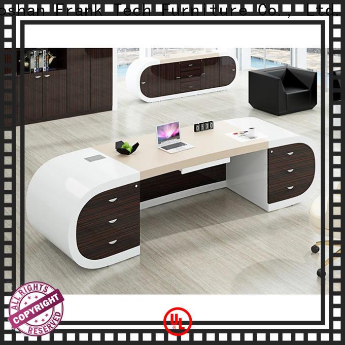hot-sale office table design desk from manufacturer for bank